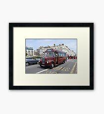 Guy Special vintage bus,  Framed Print