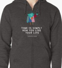 Live Your Life with Craig Sager Zipped Hoodie