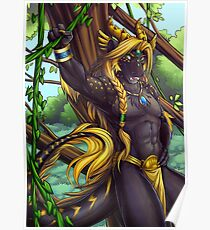 Forest Guardian Dragon Poster