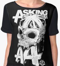 Asking Alexandria England Skull  tshirt and hoodie Chiffon Top
