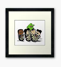 Ghostbusters Gang Framed Print