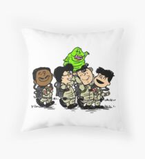 Ghostbusters Gang Throw Pillow