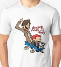 Doctor Who and Amy T-Shirt