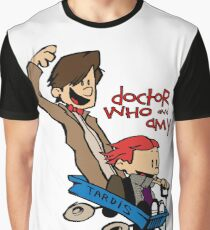 Doctor Who and Amy Graphic T-Shirt