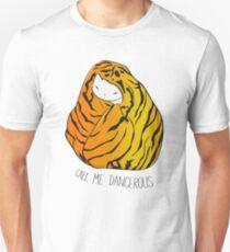 Call Me Dangerous Tiger Cat T-Shirt