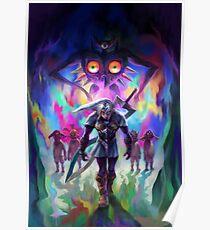 Fierce Deity Majora's Mask Poster