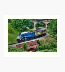 60007 Sir Nigel Gresley Locomotive Art Print