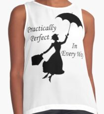 Mary Poppins - practically perfect 6 Contrast Tank