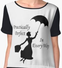 Mary Poppins - practically perfect 6 Women's Chiffon Top