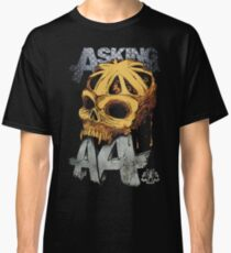 Asking Alexandria Colored England Skull  tshirt and hoodie Classic T-Shirt