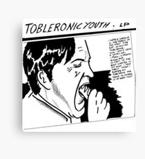 Tobleronic Youth Canvas Print