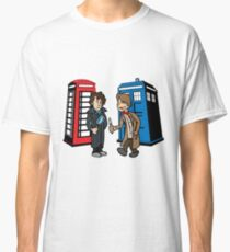 Doctor Who and Sherlock Classic T-Shirt