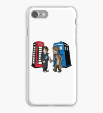 Doctor Who and Sherlock iPhone Case/Skin