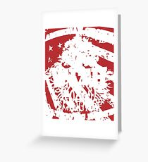 AMERICAN WITH PATRIOT T SHIRT Greeting Card