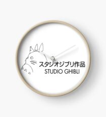 Studio Ghibli Clock