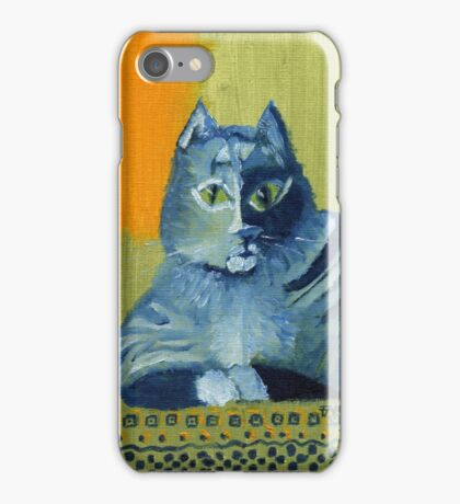 Tabby Owns Persian iPhone Case/Skin