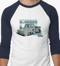 Ford F100 Truck Driver 1953 - 1956 Baseballshirt mit 3/4-Arm