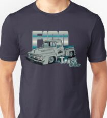Ford F100 Truck Driver 1953 - 1956 Slim Fit T-Shirt
