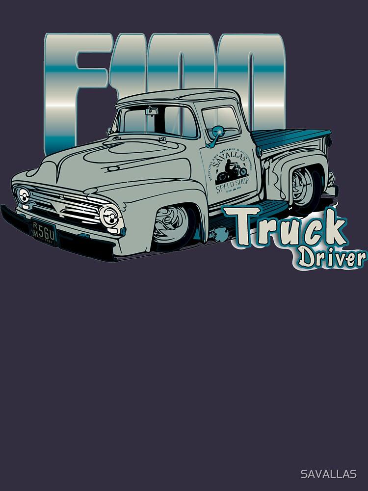Ford F100 Truck Driver 1953 - 1956 von SAVALLAS