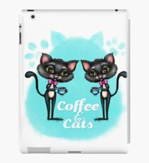 Coffee and Cats iPad Case/Skin