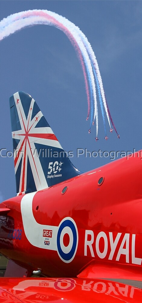The Reds - 50 Display Seasons - Farnborough 2014 by Colin  Williams Photography