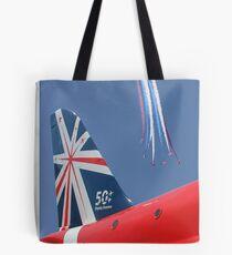 The Reds - 50 Display Seasons - Farnborough 2014 Tote Bag