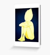 Loney Star Greeting Card