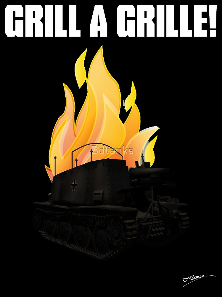 Grill a Grille! by 3dtanks