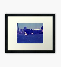 perfect day on the bay Framed Print