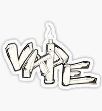 Vape Sticker