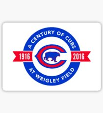 Century at Wrigley Sticker
