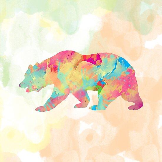 Abstract Bear by Amir Faysal