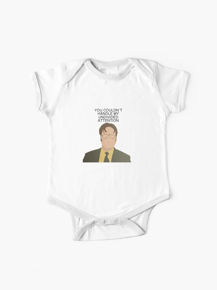 Dwight Attention The Office Quotes | Baby One-Piece