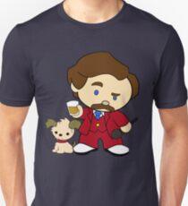 Hello Burgundy Unisex T-Shirt