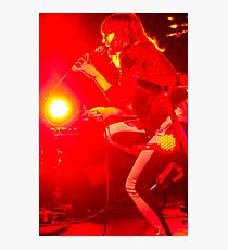 Red Rock 'n' Roll Singer Photographic Print