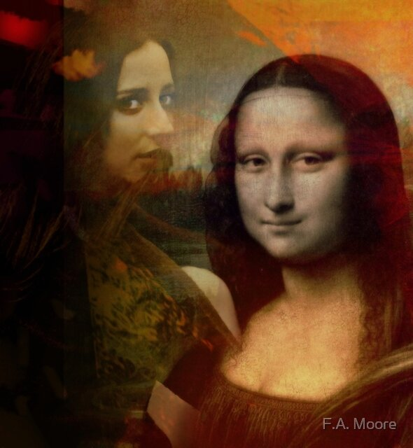 The Mona in Me by F.A. Moore