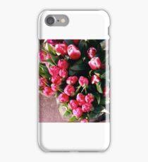 tulips at a flower shop,berkeley iPhone Case/Skin