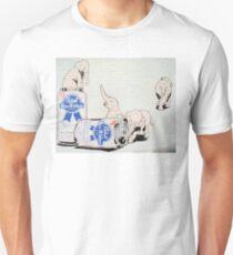 Pink Elephants Make You Think! Unisex T-Shirt
