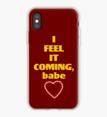 i feel it coming iPhone Case