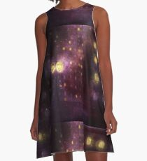 City Of Stars A-Line Dress