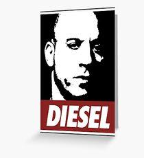 Vin Diesel Greeting Card