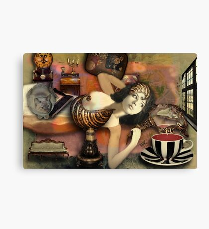 Alice Still Lives Here Canvas Print