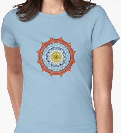 World On Fire Mandala T-Shirt