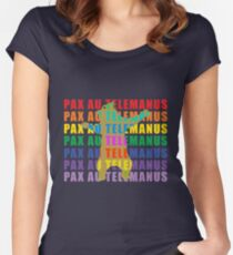 Pax Au Telemanus Women's Fitted Scoop T-Shirt