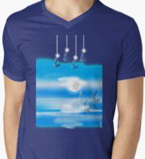 One Moon Light sea T-Shirt