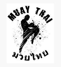 Cool Muay Thai Shirt for any nak muay Photographic Print