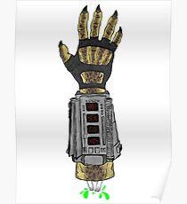 Predator's Hand Poster