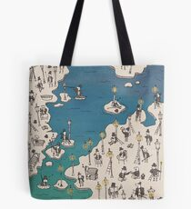 The Little Prince : Lamplighter Tote Bag