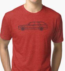 E34 M5 Touring Tri-blend T-Shirt