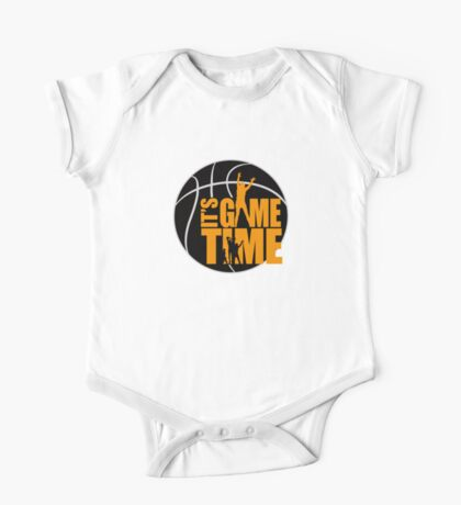 It's Game Time - Yellow Kids Clothes
